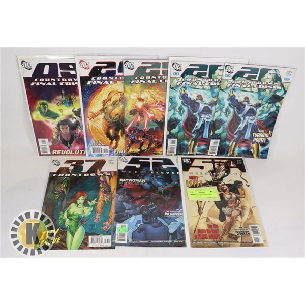 DC'S FINAL COUNTDOWN FINAL CRISIS 9 ISSUES