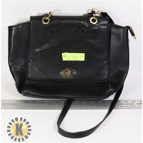 VERSACE BLACK PURSE MADE IN ITALY