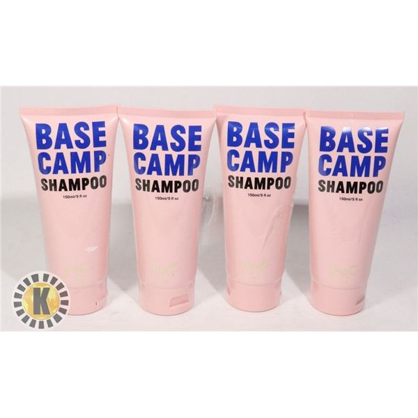 4 PYT BASE CAMP SHAMPOO- 150ML EACH