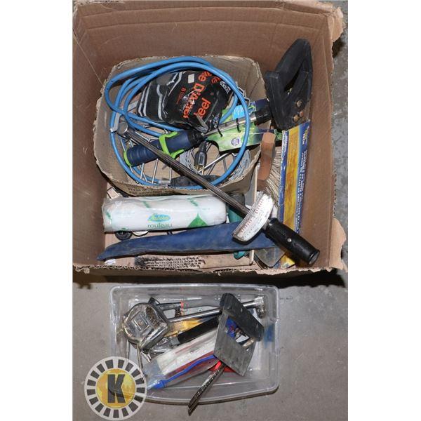 ESTATE BOX OF TOOLS