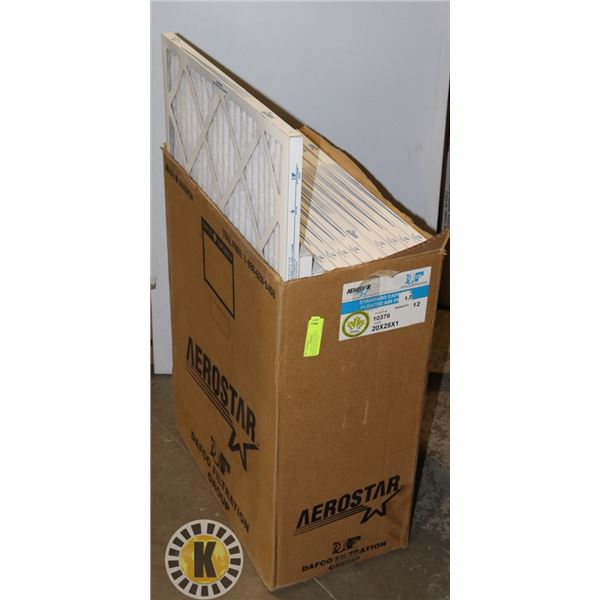 """1 AEROSTAR HOME AIR FILTER UNITS 20"""" BY 25"""" BY 1"""""""