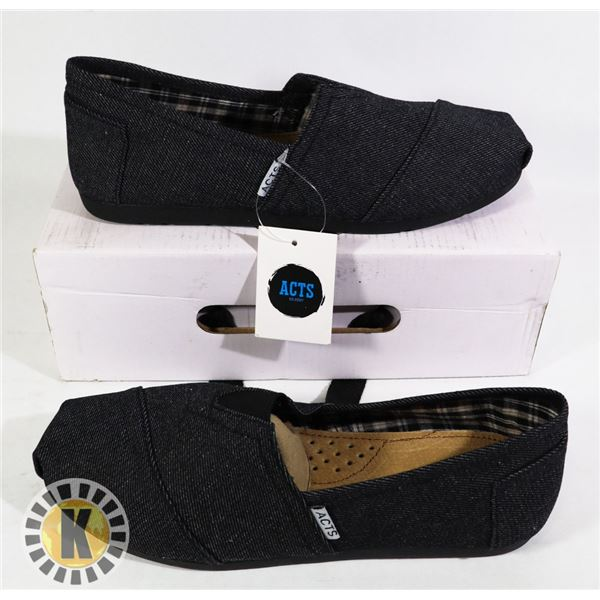 PAIR OF  ACTS  STANDARD SLIP ON SHOES- SIZE 7