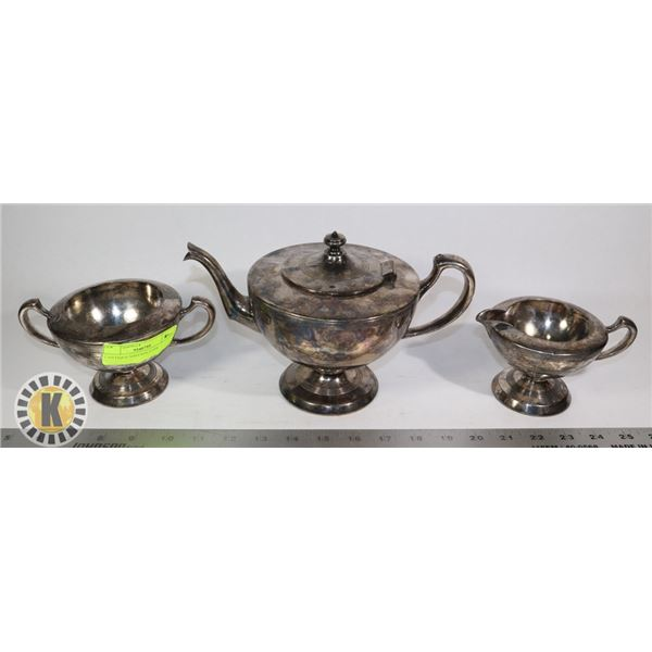 ANTIQUE/VINTAGE SILVER PLATED TEA SERVICE