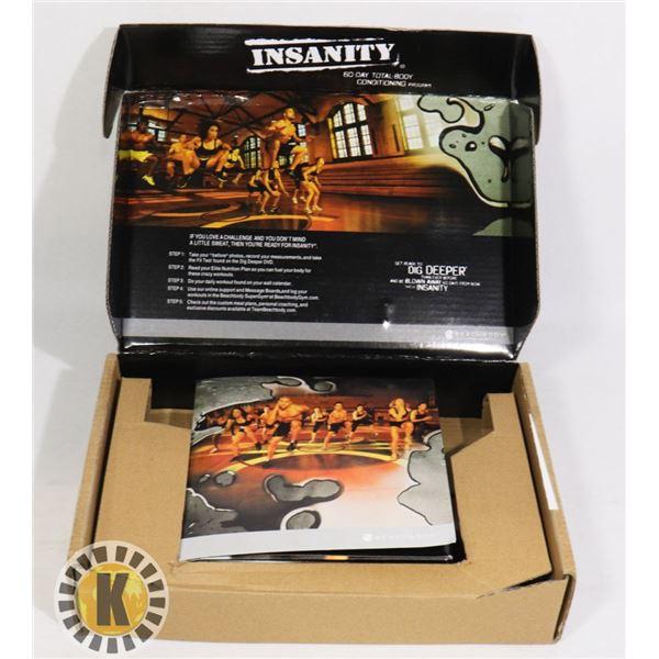 INSANITY BEACH BODY DVD SET