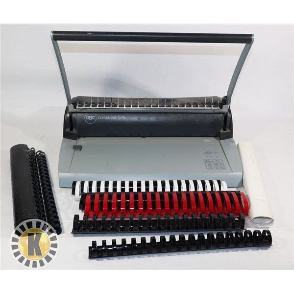 COMBBIND C75 BINDING MACHINE WITH ACCESSORY