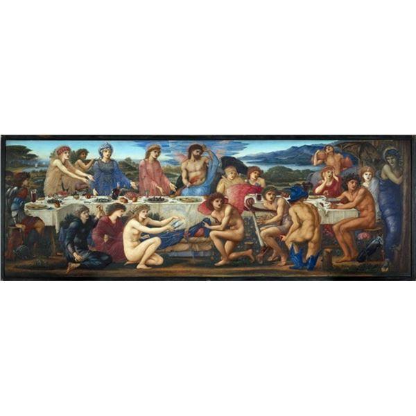 Edward Burne-Jones - The Feast of Peleus