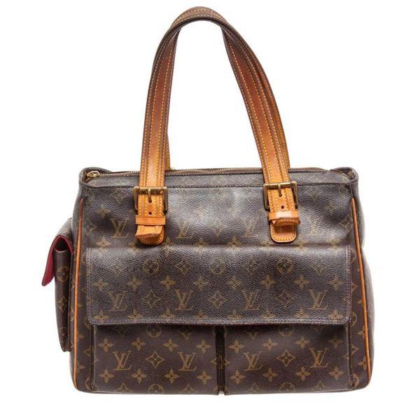Louis Vuitton Brown Monogram Multipi Cite Shoulder Bag
