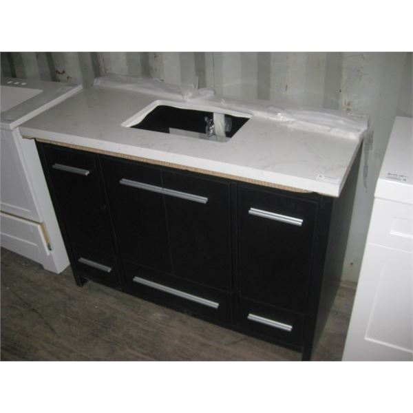HOME DEPOT 1001047907 48 INCH KNOCKED OUT SINK PLEASE VIEW