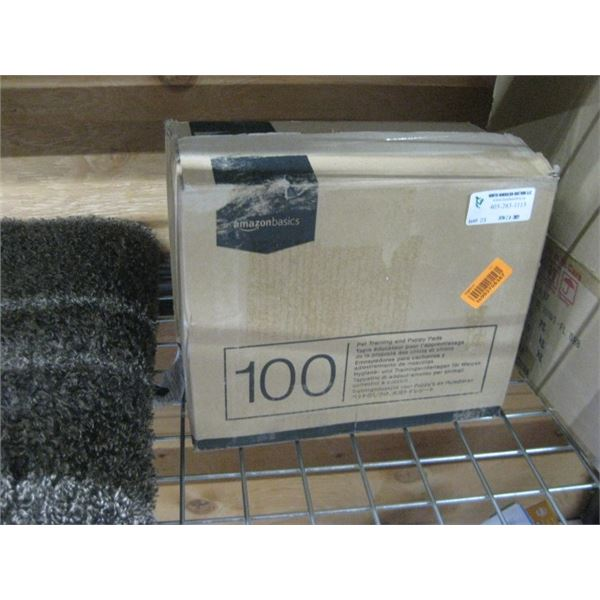AMAZON BASICS 100 PET TRAINING AND PUPPY PADS