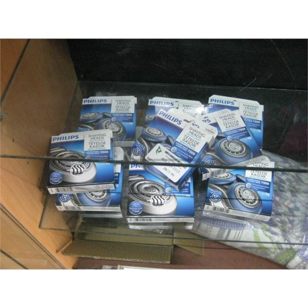 9 PACKAGES PHILIPS SHAVING HEADS REPLACEMENT 7000 SERIES