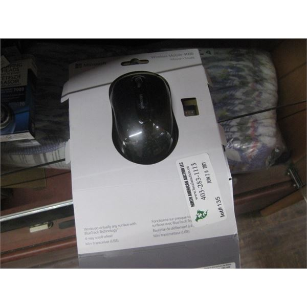 MICROSOFT WIRELESS MOBILE 4000 MOUSE