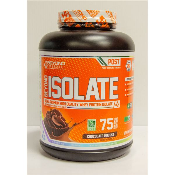 BEYOND ISOLATE WHEY PROTEIN CHOCOLATE MOUSSE