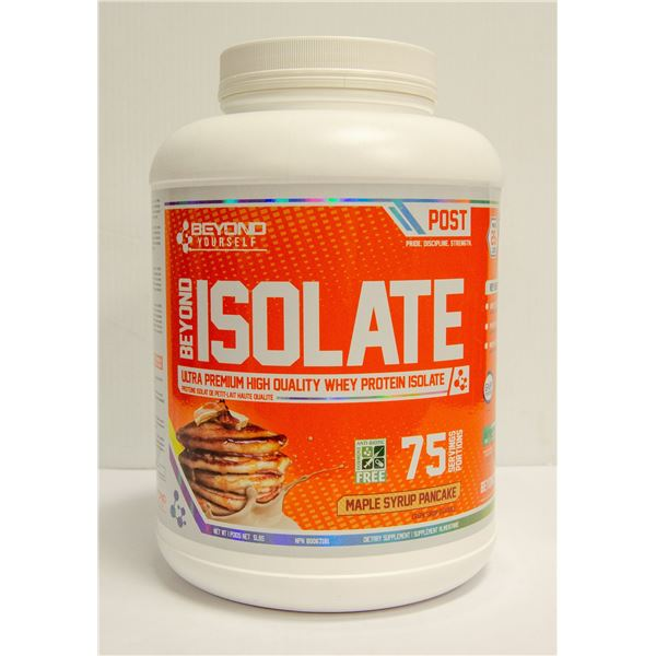 BEYOND ISOLATE WHEY PROTEIN MAPLE SYRUP PANCAKE