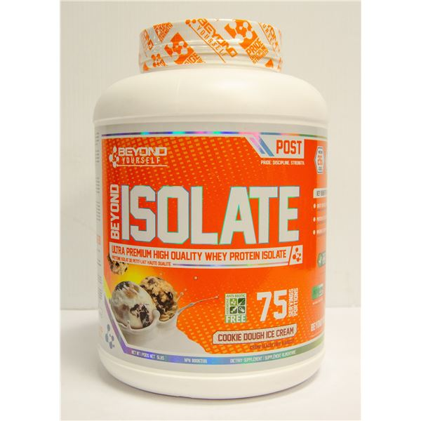 BEYOND ISOLATE WHEY PROTEIN COOKIE DOUGH ICE CREAM