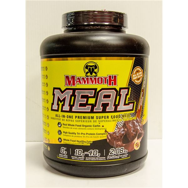 MAMMOTH MEAL ALL-IN-ONE SUPER FOOD MEAL CHOCOLATE