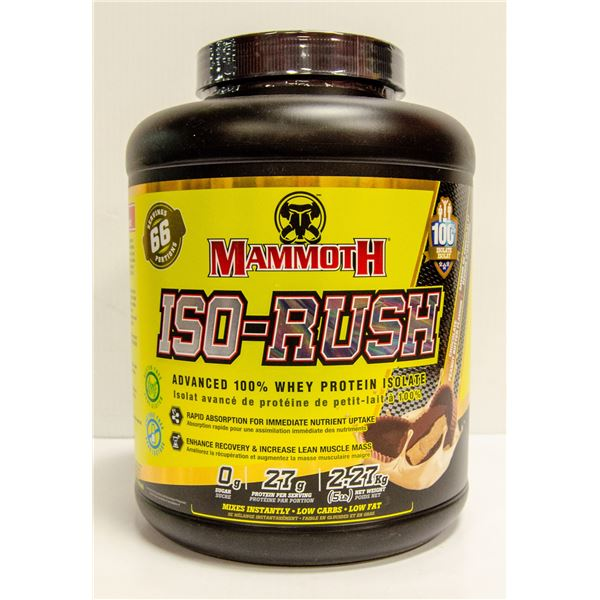 MAMMOTH MEAL ISO RUSH SUPER FOOD MEAL CHOCOLATE