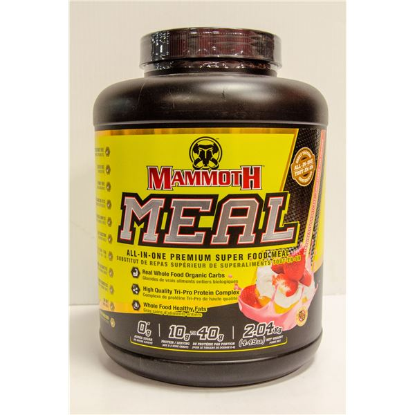 MAMMOTH MEAL ALL-IN-ONE SUPER FOOD MEAL STRAWBERRY