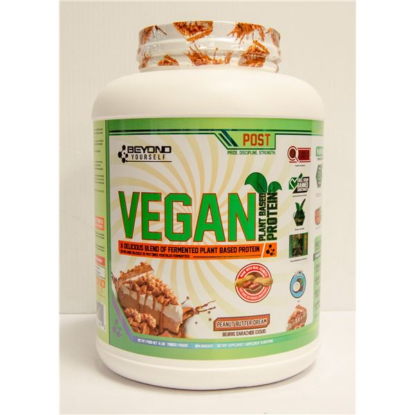 BEYOND YOURSELF VEGAN PLANT BASED PROTEIN