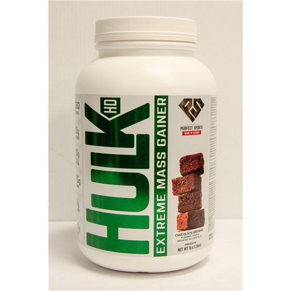 HULK HD EXTREME MASS GAINER CHOCOLATE BROWNIE