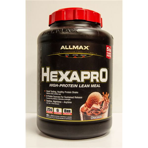 ALLMAX HEXAPRO HIGH-PROTEIN LEAN MEAL 5LBS