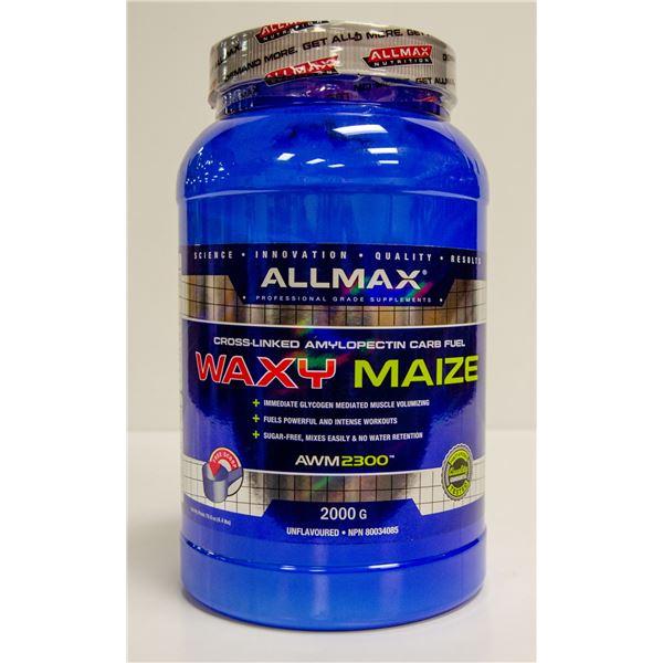 ALLMAX WAXY MAIZE CROSS-LINKED AMYLOPECTIN CARB