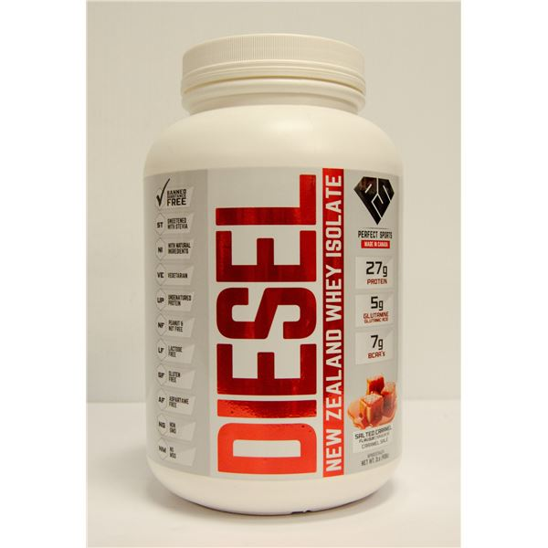 DIESEL NEW ZEALAND WHEY ISOLATE SALTED CARAMEL