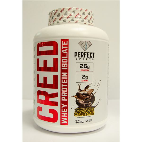 CREED WHEY PROTEIN ISOLATE TRIPLE RICH CHOCOLATE