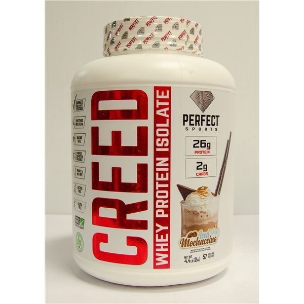 CREED WHEY PROTEIN ISOLATE ICED MOCHACCINO