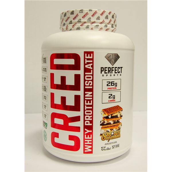 CREED WHEY PROTEIN ISOLATE S'MORES SENSATION
