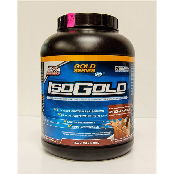 GOLD SERIES ISOGOLD PREMIUM WHEY PROTEIN ICED