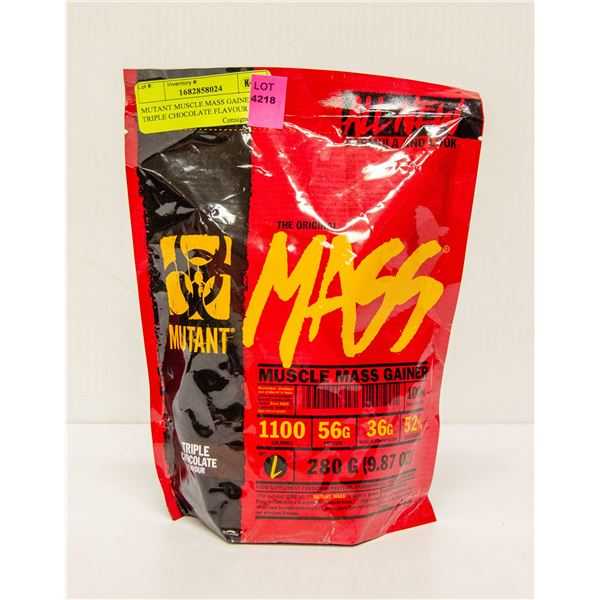 MUTANT MUSCLE MASS GAINER TRIPLE CHOCOLATE FLAVOUR