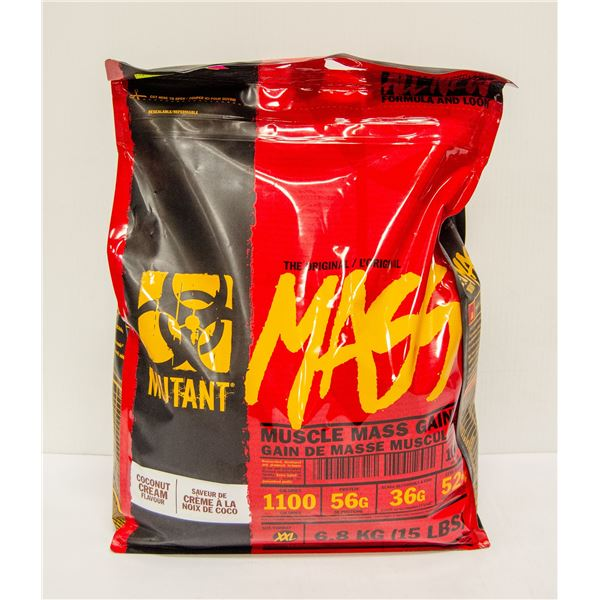 MUTANT MUSCLE MASS GAINER COCONUT CREAM FLAVOUR