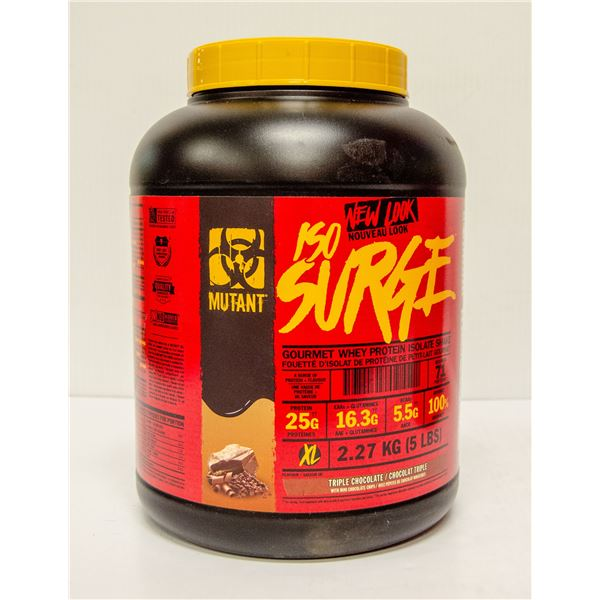 MUTANT ISO SURGE GOURMET WHEY PROTEIN ISOLATE