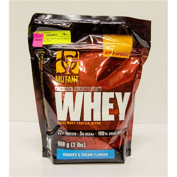 MUTANT CORE SERIES MULTI WHEY PROTEIN BLEND