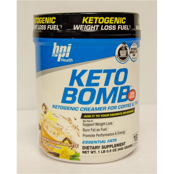 KETO BOMB KETOGENIC CREAMER FOR COFFEE & TEA