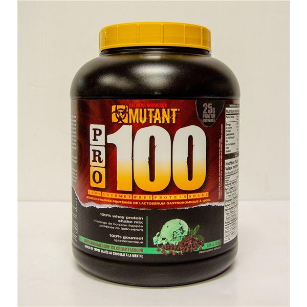 MUTANT PRO 100 GOURMET WHEY PROTEIN SHAKE MINT