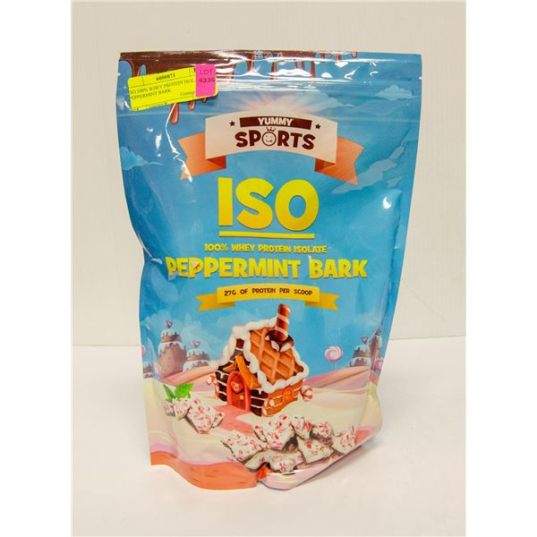YUMMY SPORTS ISO 100% WHEY PROTEIN ISOLATE