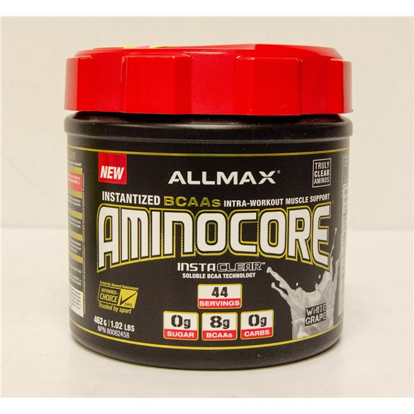 ALLMAX AMINOCORE INSTANTIZED BCAAS INTRA-WORKOUT