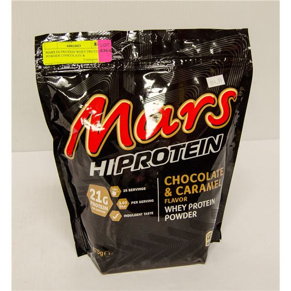 MARS HI-PROTEIN WHEY PROTEIN POWDER CHOCOLATE &