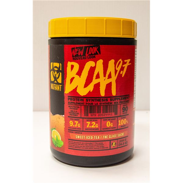 MUTANT BCAA 9.7 PROTEIN SYNTHESIS SUPPLEMENT SWEET