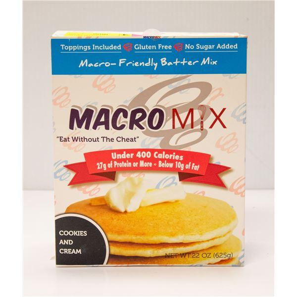MACRO MIX MACRO-FRIENDLY BATTER MIX COOKIES &