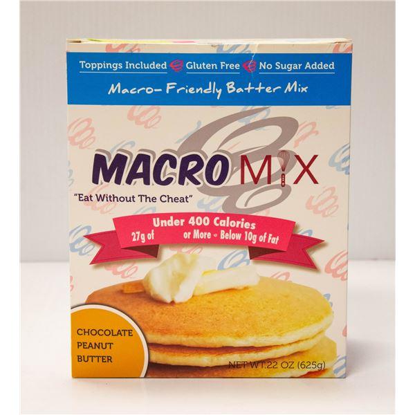 MACRO MIX MACRO-FRIENDLY BATTER MIX CHOCOLATE