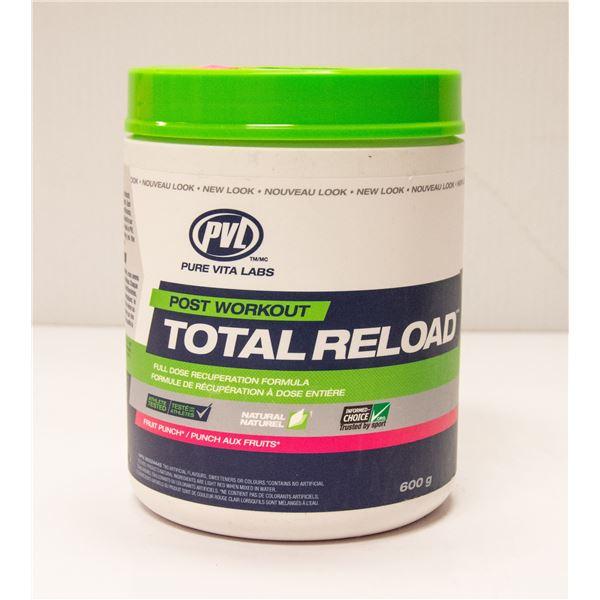 PVL TOTAL RELOAD POST-WORKOUT FORMULA FRUIT PUNCH