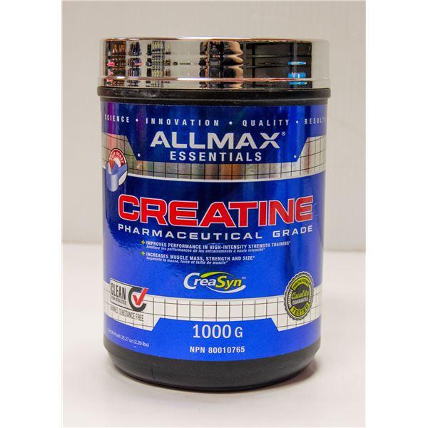 ALLMAX PHARMACEUTICAL GRADE CREATINE 1000G