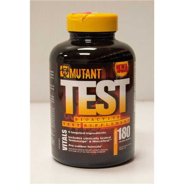 MUTANT TEST BIOACTIVE TEST SUPPLEMENT 180 CAPSULES
