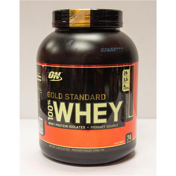 ON GOLD STANDARD 100% WHEY PROTEIN ISOLATE 5LBS