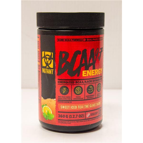MUTANT BCAA 9.7 ENERGIZED BCAA SWEET ICED TEA