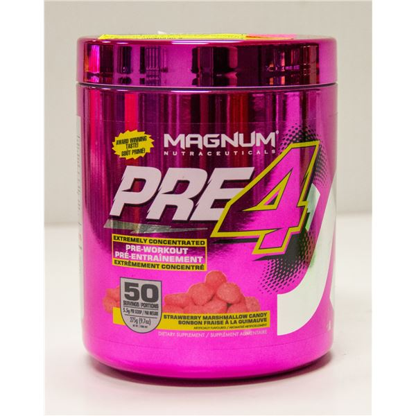 MAGNUM PRE-4 EXTREMELY CONCENTRATED PRE-WORKOUT