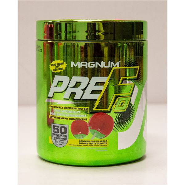 MAGNUM PRE-F EXTREMELY CONCENTRATED PRE-WORKOUT