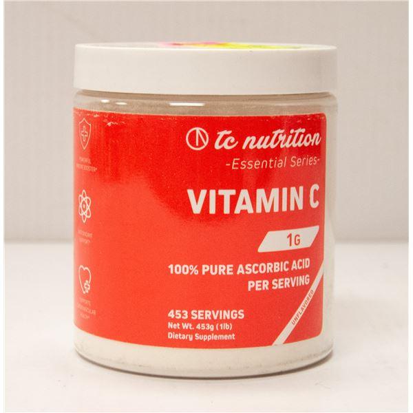 TC NUTRITION ESSENTIAL SERIES VITAMIN C 453G